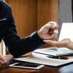 Signing the Buyer's Temporary Residential Lease in Texas